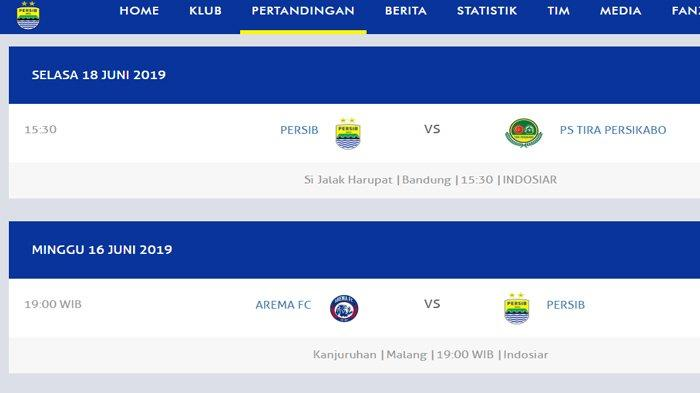 JADWAL Anyar Persib vs Tira Persikabo Bermasalah, Mepet dengan Big Match Arema FC vs Persib
