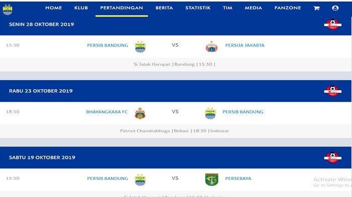 JADWAL Persib Bandung di Bulan Oktober, Mainkan 4 Laga, Ada Laga yang Dinanti-nanti Bobotoh