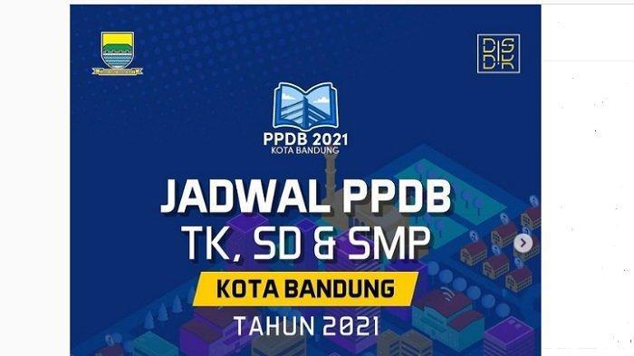 Jadwal PPDB TK, SD, dan SMP Kota Bandung 2021, Pendaftaran Jalur Afirmasi Beda dengan Jalur Zonasi