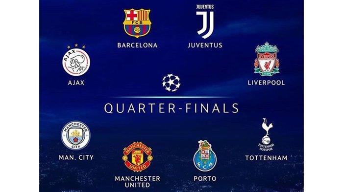 Jadwal dan Live Streaming Undian Perempat Final Liga Champions, Wakil Inggris Akan Perang Saudara