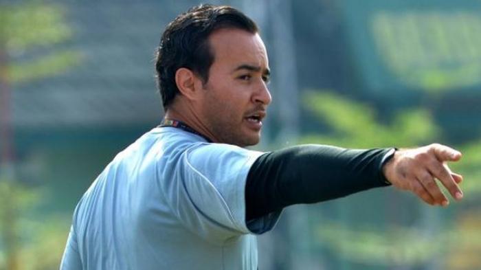 Jaino Matos saat masih sebagai pelatih Diklat Persib. (FOTO: TRIBUN JABAR/DENI DENASWARA)