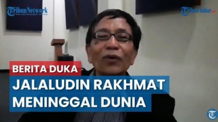 Jalaluddin Rakhmat Berpulang, Dimakamkan Berdampingan dengan Sang Istri di Cicalengka