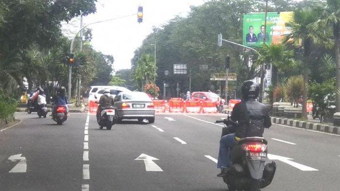 Akses Jalan Menuju Pusat Kota Bandung Masih Ditutup Pada H+3 Lebaran