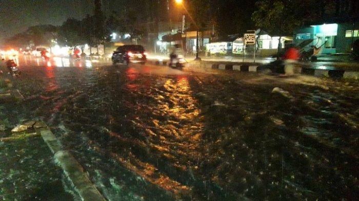 Banjir di Depan Kahatex Kembali Terjadi, Sudah Beberapa Tahun dan Hingga Kini Tak Ada Solusinya