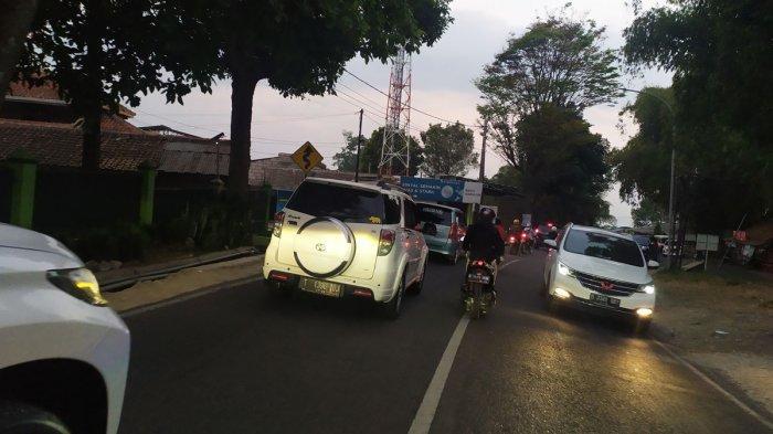 One Way di Jalan Raya Lembang, Farmhouse dan Great Asia Afrika Jadi Titik Kemacetan