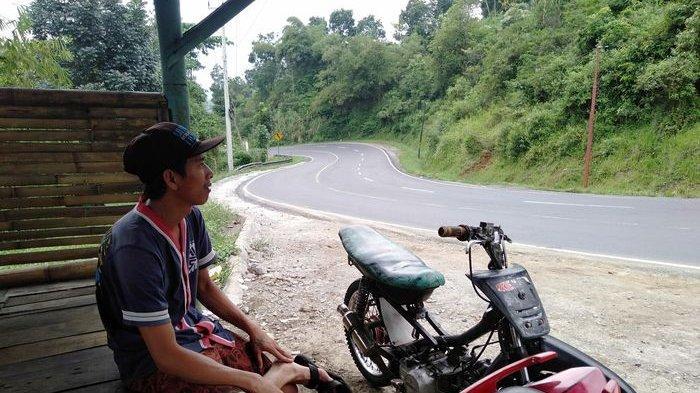 Kawasan Gentong Tasikmalaya Sepi Pemudik, Pemberi Jasa Ganjal Ban Nganggur