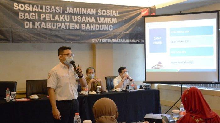 Kadisnaker Kabupaten Bandung: Jaminan Sosial Ciptakan Masyarakat Sejahtera