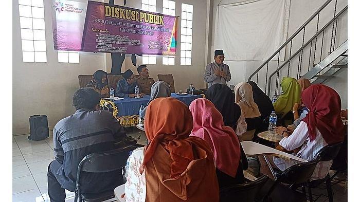 Jaringan Cirebon untuk Kemanusiaan Gelar Diskusi, Bahas Perkembangan Teknologi dan Pemilu 2019