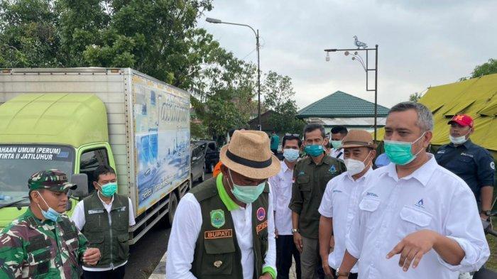 Jasa Tirta II Salurkan Bantuan ke Korban Banjir Karawang, Subang, dan Indramayu