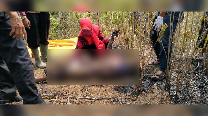 Lahan Pengangonan Terbakar di Desa Pasir Negara Ciamis, Tarsih Tewas Gosong