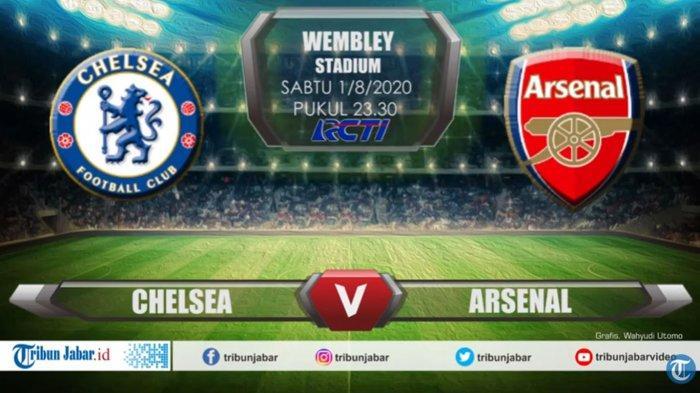 Prediksi Susunan Pemain Arsenal vs Chelsea di Final Piala FA, Malam Ini