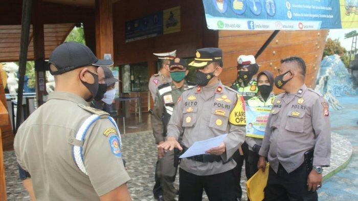 Jelang Tahun Baru, Personel Gabungan Sosialisasi Larang Perayaan Tahun Baru di Kota Sukabumi