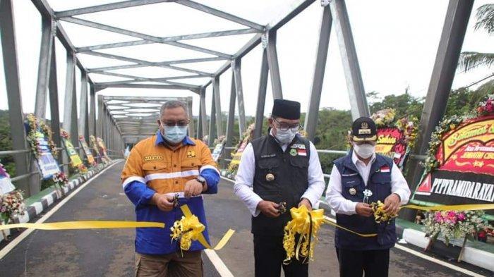Jembatan Cibuni, Penghubung Cianjur-Sukabumi Akhirnya Diresmikan Gubenur Jabar