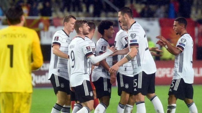 Jerman Tim Pertama Lolos ke Piala Dunia 2022, Belgia Tertahan, Ini Klasemen Lengkap Grup Zona Eropa