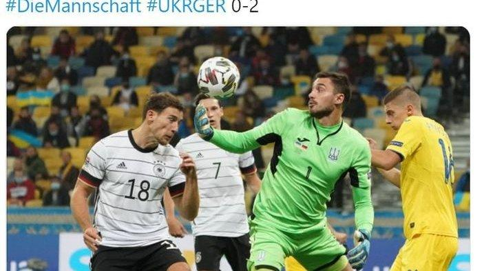 Hasil UEFA Nations League - Kiper Ukraina Luput Tangkap Bola, Gelandang Bayern Muenchen Cetak Gol