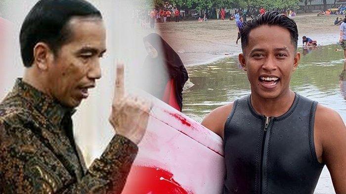Bukan Tenggelam, Fakta Insiden Peselancar Indonesia Ditolong Atlet Filipina, Jokowi: Terima Kasih