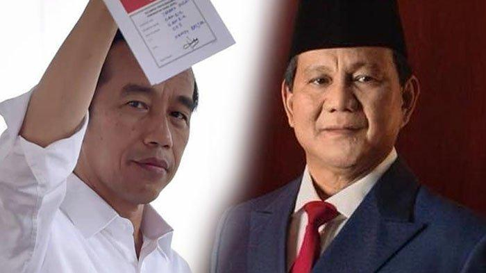 Hitung Cepat LSI Denny JA, Jokowi-Maruf Amin Unggul di 20 Provinsi, Prabowo-Sandiaga di 14 Provinsi