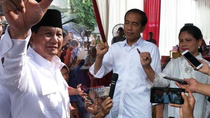 Prabowo-Sandi Menang di 19 Provinsi, Jokowi-Maruf Amin 15 Provinsi versi Quick Count, Ini Rinciannya