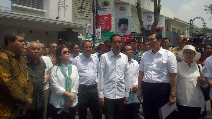 Presiden Joko Widodo Malam Ini Datang ke Bandung