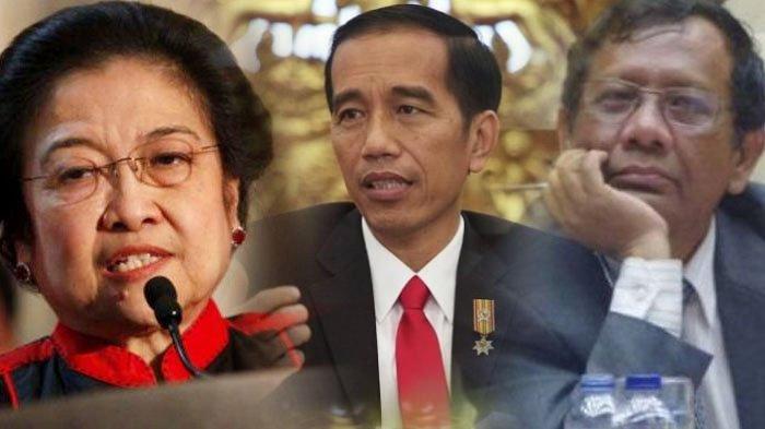 Lha Kok, Megawati Minta Jokowi Ganti Kiai Maruf Amin dan Mahfud MD, Ungkit Prabowo di Pengasingan