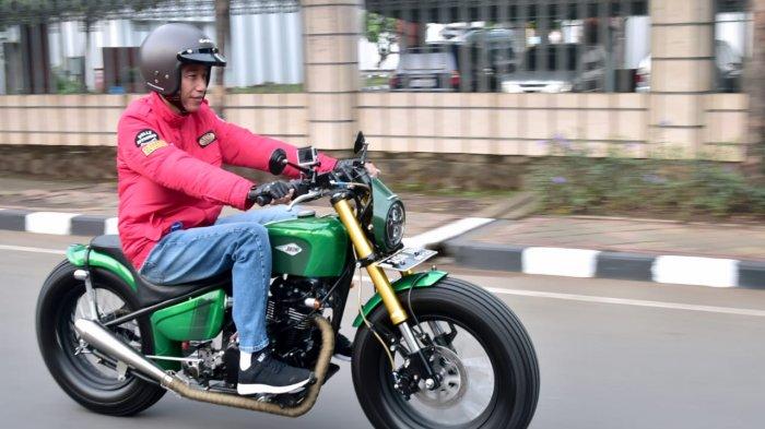 Presiden Jokowi Berakhir Pekan di Bandung, Besok Naik Motor ke Jalan Braga, Apa Saja Agendanya?