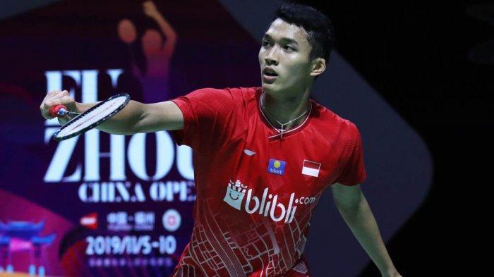 Live Streaming TV Bersama Indonesia Masters 2020 Siang Ini di TVRI, Masih Ada 7 Wakil Termasuk Jojo