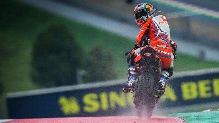Jorge Martin Pole Position MotoGP Austria 2021, di Sini Posisi Marquez dan Rossi