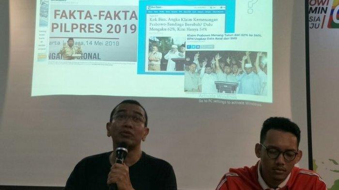 BPN Sebut Ada TPS Siluman di Sukabumi, TKN: Ternyata yang Menang 02
