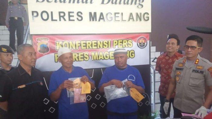 Kasus Perjudian Pilkades di Magelang Terungkap, Polisi Amankan Senpi dan Uang Puluhan Juta Rupiah
