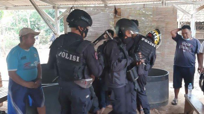 Penjudi Kocar-kacir Digerebek Timsus Maung Galunggung, Petugas Sita 19 Motor yang Ditinggal Pelaku