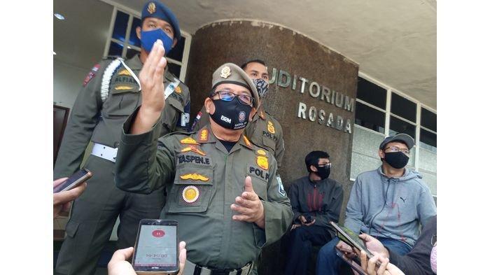 Satpol Pp Kota Bandung Siap Jalankan Instruksi Satgas Covid 19 Awasi Disiplinkan Protokol Kesehatan Tribun Jabar