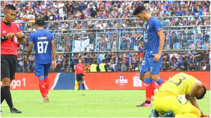 Kalah di Kandang Sendiri dari Persib Bandung, Striker Arema FC Sebut Ini Jadi Pelajaran