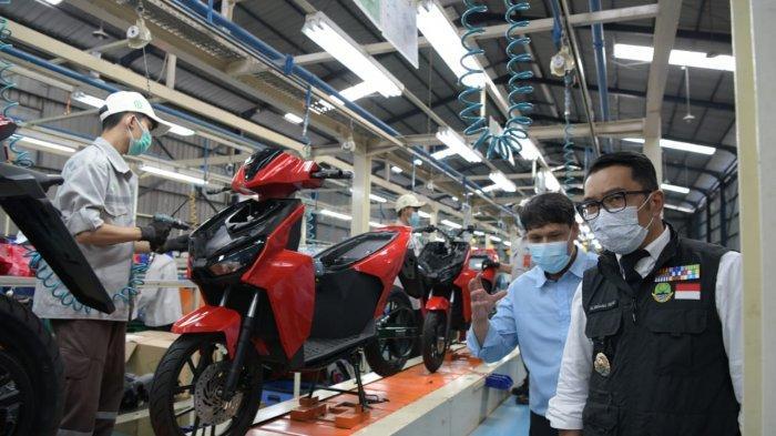 Gubernur Dorong Desain Motor Listrik untuk Touring dan Adventure, Desain Libatkan Seniman Bandung