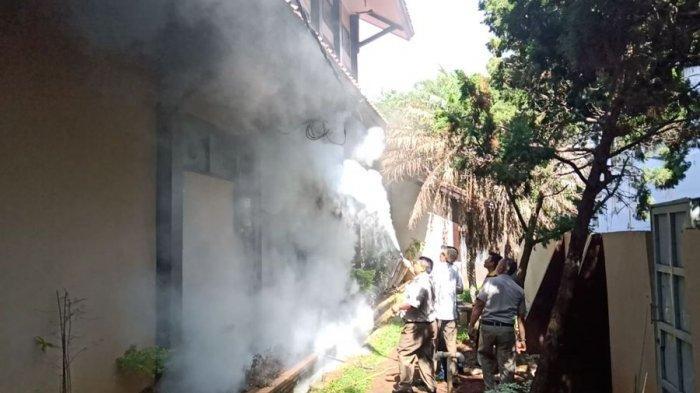 Kantor Kementerian ATR/BPN Indramayu Nyaris Terbakar, Api Muncul dari Kabel Listrik