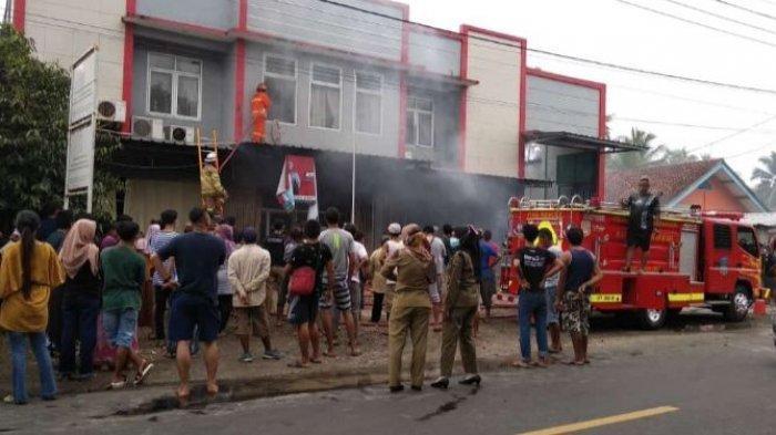 Kantor DPUTRPRKP Pangandaran Terbakar, Dokumen Penting Sebagian Hangus