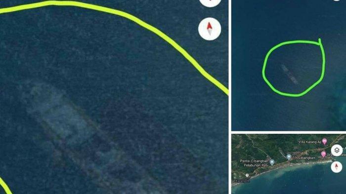 Ada Benda Mirip Kapal Perang Karam di Sukabumi Terekam Google Maps, Satpolair Akan Cek ke Lokasi