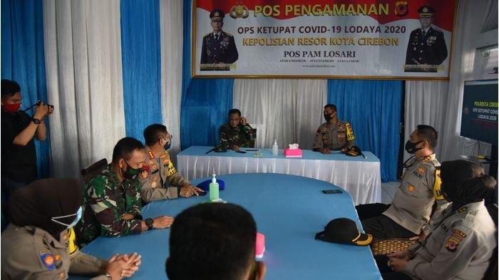 Polda Jabar Perketat Pengamanan Perbatasan Jabar - Jateng Selama Operasi Ketupat Covid-19 Lodaya