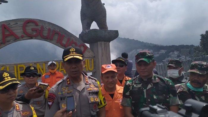Tinjau Gunung Tangkuban Parahu, Kapolda Jabar Imbau Masyarakat Tak Mendekat Dalam Radius 500 Meter