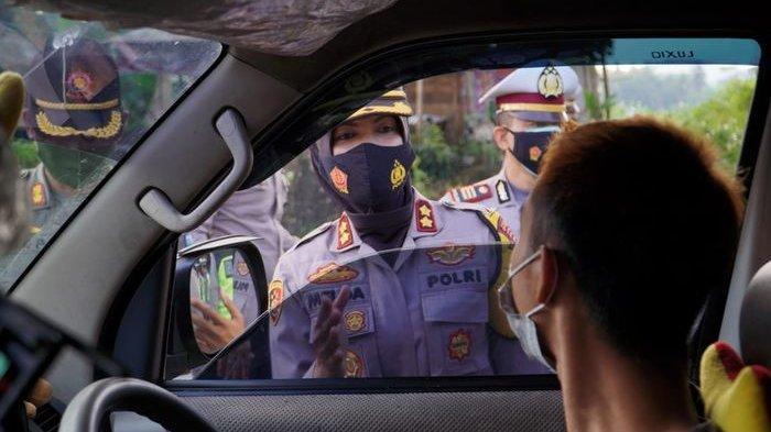 78 Kendaraan Diperiksa di Pos Cijolang Perbatasan Jabar-Jateng,4 di Antaranya Dirusuh Balik