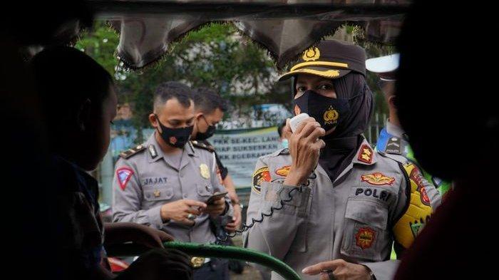 Kapolres Banjar Pemilik dan Penumpang Odong-odong yang Tak Pakai Masker