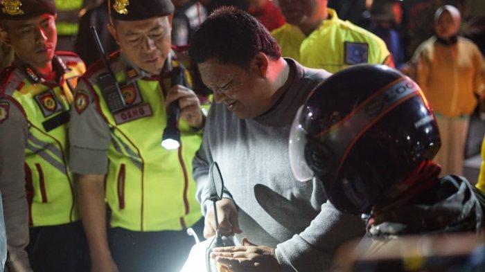 15 Motor Diamankan Polisi Saat Razia Malam di Lembang, Tak Bawa SIM Ditilang Tak Ada STNK Ditahan