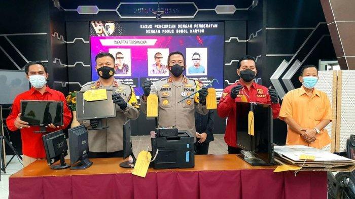 Polisi Tangkap 3 Pelaku Kasus Perampokan di Kantor-kantor Pemerintah di Subang