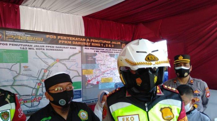 Jelang Perpanjangan PPKM Darurat, Konten Provokatif Meningkat, Polres Sumedang Awasi Medsos