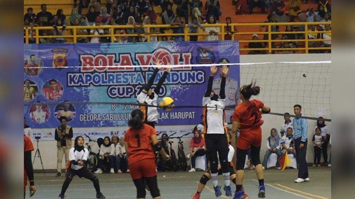 31 Tim Voli Putra dan 31 Tim Putri Perebutkan Piala Kapolresta Bandung, Ajang Cari Bibit