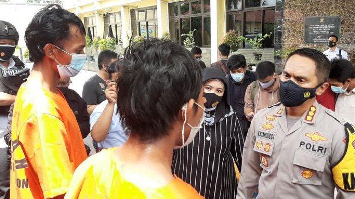Ternyata, Istri Dua Tersangka Tindakan Asusila Anak di Bawah Umur di Cirebon Bekerja di Luar Negeri