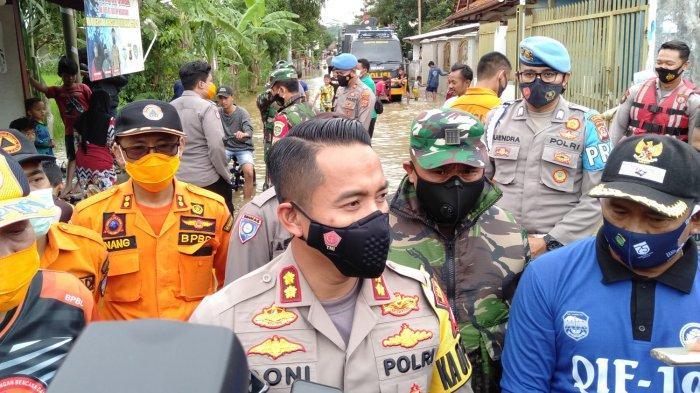 Jumlah Rumah Terendam Banjir Sukaresik Kabupaten Tasik Terus Bertambah Kamis Siang Ini