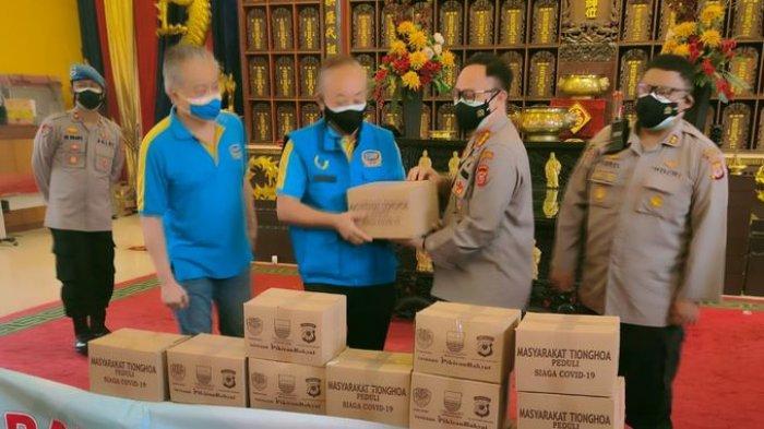 Polrestabes Bandung Terima Titipan 10 Ribu Paket Sembako untuk Disalurkan kepada Masyarakat