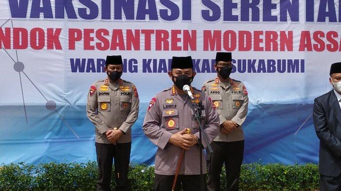 Kapolri Datangi Pondok Pesantren di Sukabumi, Sang Jenderal Tinjau Vaksinasi dan Mengaku Optimistis