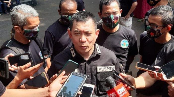 Kapuspen TNI Mayjen TNI, Achmad Riad. (KOMPAS.com/ACHMAD NASRUDIN YAHYA)