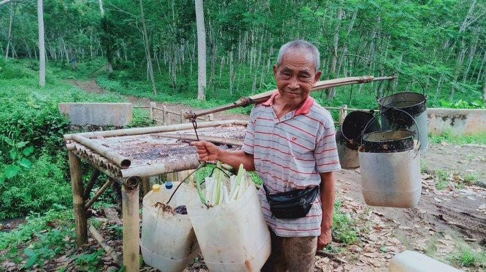 Cerita Karso, Kakek 103 Tahun di Pangandaran, Masih Kuat Pikul Beban 60 Kg, Ini Tipsnya Panjang Umur